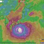 【2019最新】台風21号の現在地がどこかをリアルタイムで知る方法!Windy