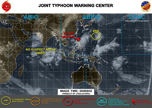 台風の米軍現在地8/30時点